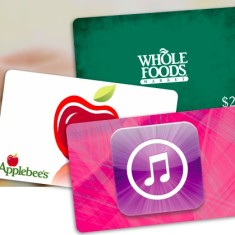 Gift cards 1